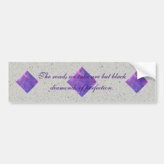 Dancing Lights Fractal Art Bumper Sticker