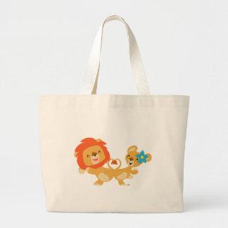 Dancing lion couple bag