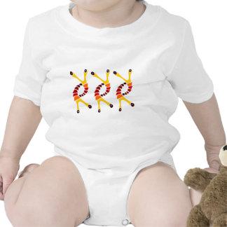 Dancing Lobster baby fashion Shirts