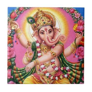 Dancing Lord Ganesha Ceramic Tiles