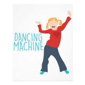 Dancing Machine Letterhead
