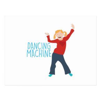Dancing Machine Postcard