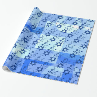 Dancing Magen David Wrapping Paper