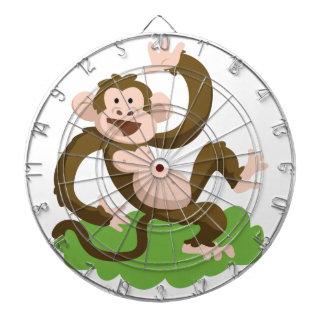 dancing monkey dartboard