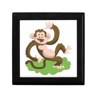 dancing monkey gift box