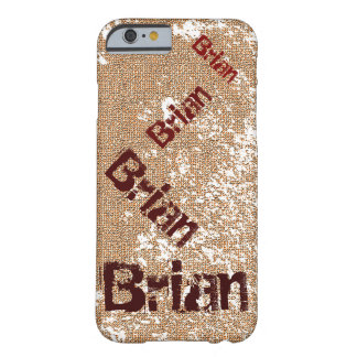 Dancing Name Distressed Grunge Barely There iPhone 6 Case