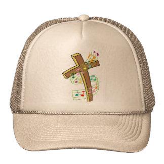 dancing note cross hats