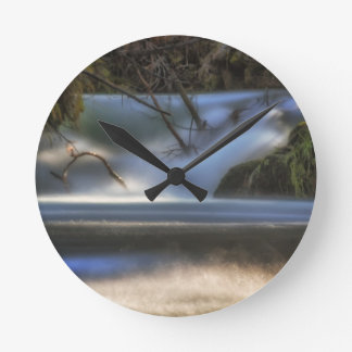 Dancing on the Water Wall Clock