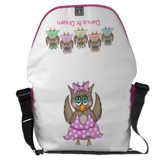 Dancing Owls Bag Commuter Bag