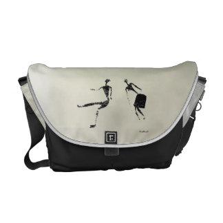 Dancing Pair Messenger Bags