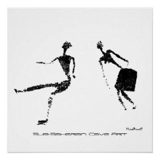 Dancing Pair Perfect Poster