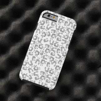 Dancing Pandas Pattern Illustration Tough iPhone 6 Case
