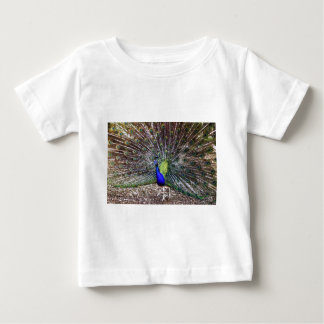 Dancing Peacock Baby T-Shirt