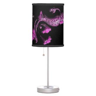Dancing Peacock Table Lamp
