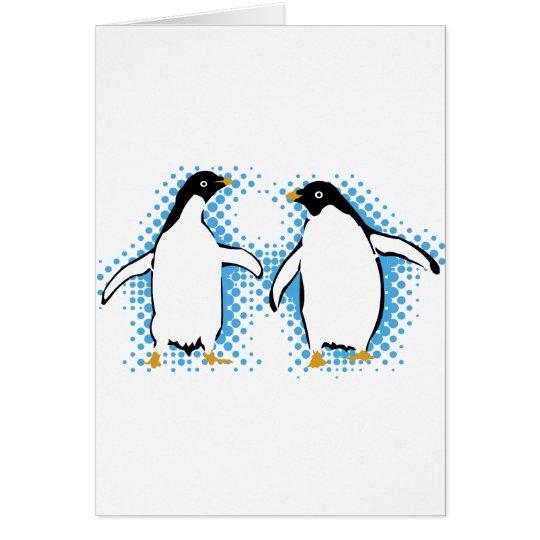 Dancing Penguins Card