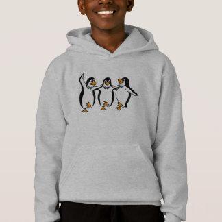 Dancing Penguins Child Hoody