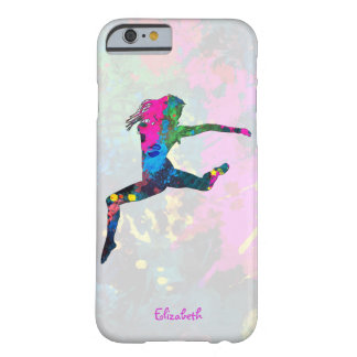 Dancing People Abstract Colors iPhone 6 Case
