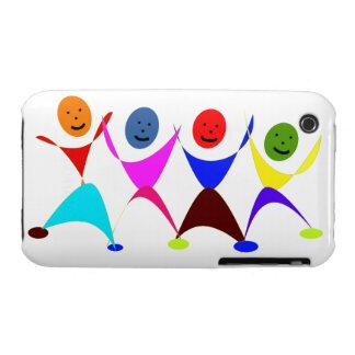 Dancing People Cartoon Blackberry Curve Case-Mate  Case-Mate iPhone 3 Case
