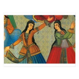 Dancing Persian Girls Postcard