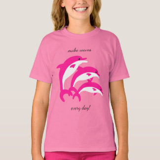 Dancing Pink Dolphins T-Shirt