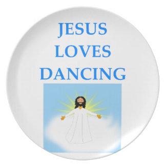 DANCING PLATE