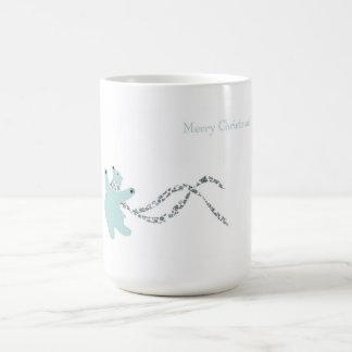 Dancing Polar Bear Basic White Mug