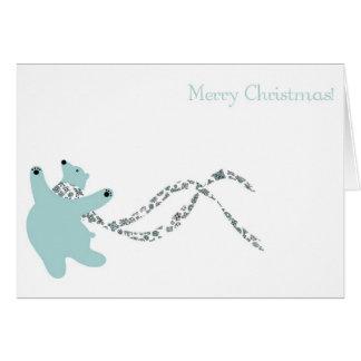 Dancing Polar Bear Cards