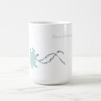 Dancing Polar Bear Coffee Mugs