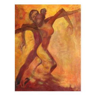 Dancing Postcard