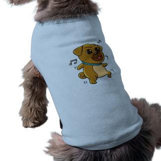 Dancing pug shirt