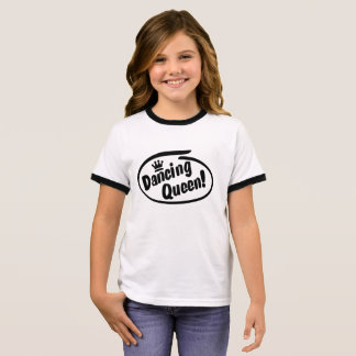 Dancing Queen, Dance Ringer T-Shirt