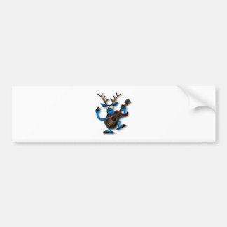 Dancing_Reindeer2222 Bumper Sticker