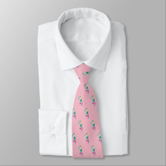Dancing Romany Gypsy Boy (pale pink) Tie