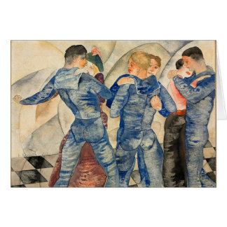 Dancing Sailors Card