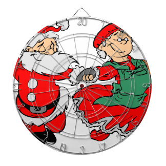 Dancing Santa claus Dartboard