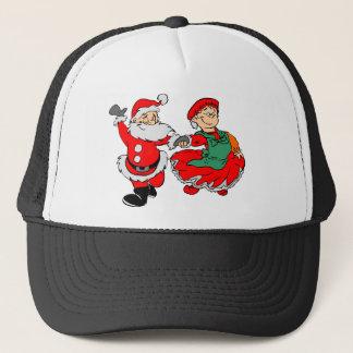 Dancing Santa claus Trucker Hat
