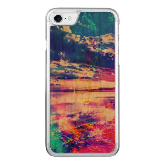 Dancing Sea Carved iPhone 8/7 Case