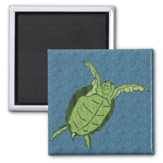Dancing sea turtle magnet
