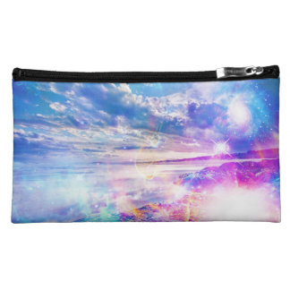 Dancing Sea Zippered Cosmetic Bag