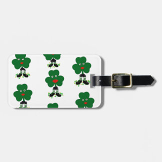 dancing shamrocks1.jpg luggage tag