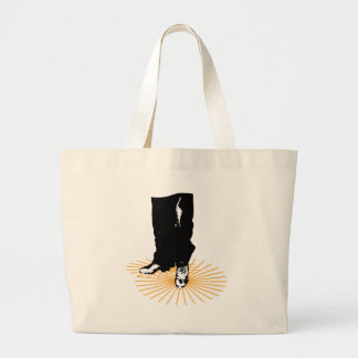 Dancing Shoes Large Tote Bag