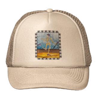 Dancing Skeleton Trucker Hat