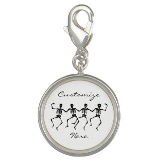 Dancing Skeletons Halloween Thunder_Cove Photo Charms