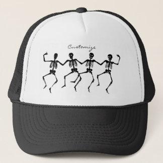 Dancing Skeletons Halloween Thunder_Cove Trucker Hat