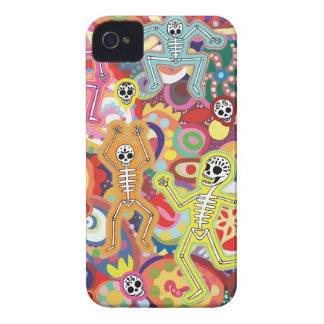Dancing Skeletons iPhone 4/4S Barely There Case