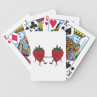 Dancing Strawberries Poker Deck