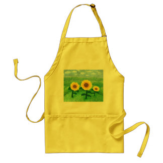 Dancing Sunflower Apron