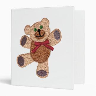 Dancing Teddy Bear 3 Ring Binders