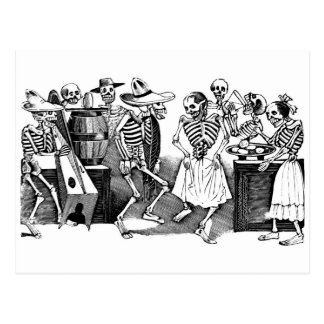 """Dancing the Jarabe in the Other World"" Postcard"