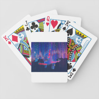 Dancing Through New Year Bicycle Playing Cards
